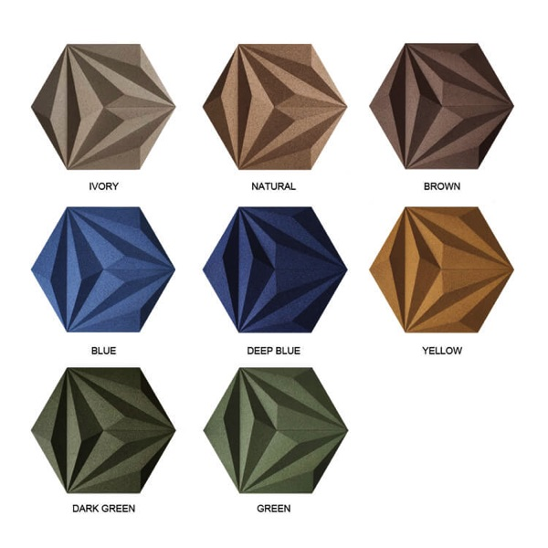 Corkbee kleuren
