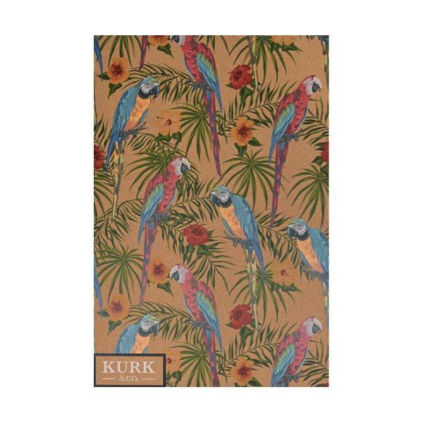 Prikbord papegaai