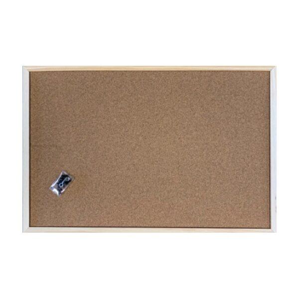 Prikbord kurk houten lijst